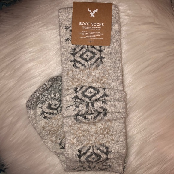 American eagle boot socks